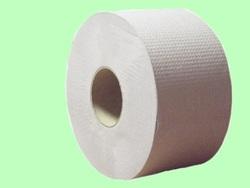 Туалетная бумага ХХ 1слой 200м d=17см  h=9см  серая макулатура ХХ 200-1м  1/12