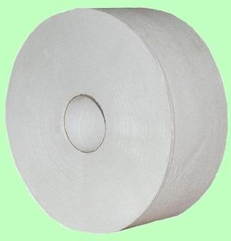 Туалетная бумага ХХ 1слой 480м  d=27см  h=9,5см  серая макулатура ХХ 480-1м  1/6