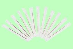 Зубочистки деревянные ПАПИРУС 6,5см в п/э индивидуальной упаковке  1000шт